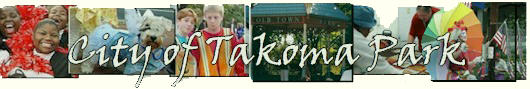 City of Takoma Park - if you do not see this image you probably forgot the www in www.takomapark.info